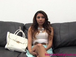 Casting Cute Student Teen College