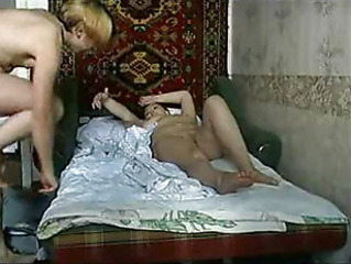 Amateur Mature Mom Old and Young Son