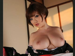 Amazing Asian Babe Big Tits Japanese Natural