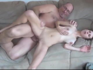 Big Tits Daddy Daughter Old and Young Skinny Student Teen College