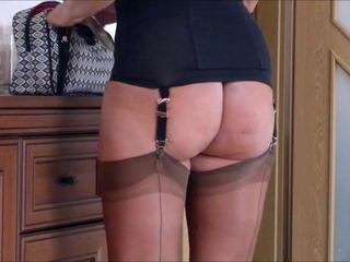 Ass Corset Mature Stockings Corset Stockings Nylon