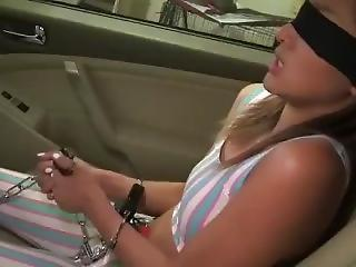 Amateur Bondage Car Teen
