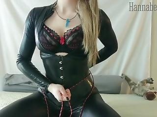 Anal Babe Corset Latex Toy Corset