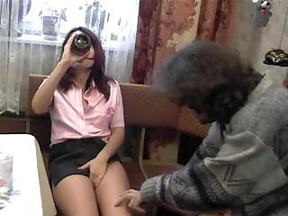 Cuckold Drunk Kitchen Russian Wife