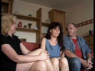 Amateur Mature Older Swingers Threesome