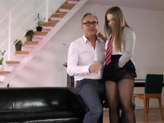 Amazing Daddy Daughter Family Office Old and Young Secretary Teen