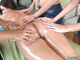 Amazing Ass Massage  Oiled