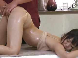 Asian Cute Doggystyle Japanese Massage Oiled Teen Fingering