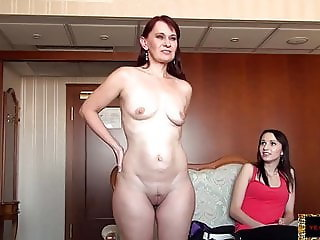 Casting Daughter Mom Old and Young Daughter Mother