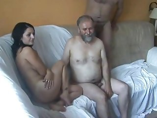 Amateur Daddy Daughter Family Groupsex Old and Young Teen