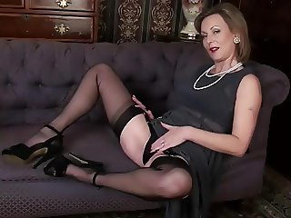 Amazing Legs Mature Stockings