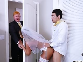 Amazing Anal Bride Doggystyle Family  Mom Old and Young Stepmom