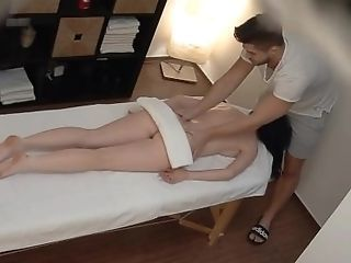 Ass European HiddenCam Massage Oiled Teen Czech
