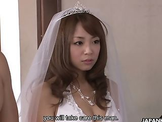 Amazing Asian Bride Japanese Teen Uniform Wedding