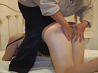 Asian Daddy Daughter Family Japanese Old and Young Teen Son Daughter