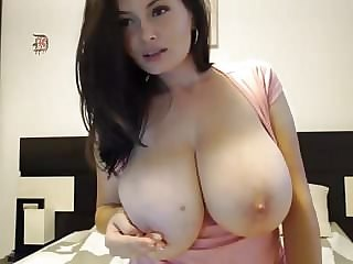 Amazing Big Tits Cute  Nipples Webcam
