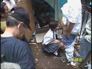 Amateur Asian Blowjob Clothed Gangbang Old and Young Student Teen Uniform
