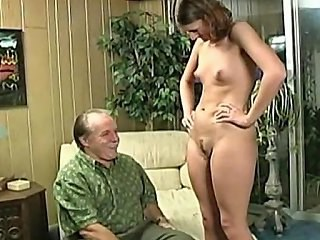 Daddy Daughter Old and Young Small Tits Teen Vintage