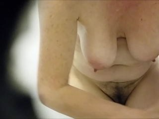 Hairy HiddenCam Mature Natural Nipples Voyeur