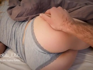Amazing Ass Panty Sleeping Teen