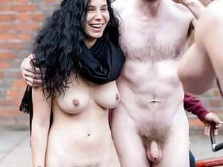 Brunette Nudist Public Teen