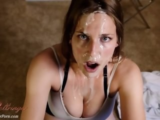 Cumshot Facial Fetish