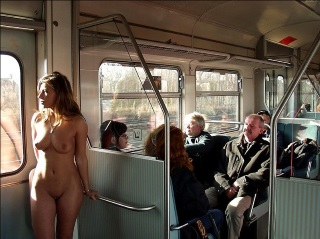 European German Nudist Train