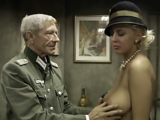 Army Big Tits Blonde Daddy  Natural Old and Young Pornstar Vintage