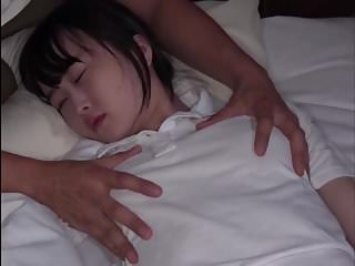 Asian Brunette Cute Sleeping Teen