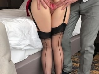 Lingerie Old and Young Pussy Stockings