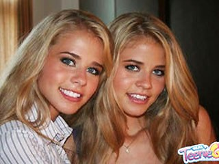 Blonde Cute Pornstar Sister Teen Twins
