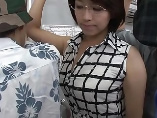 Asian Glasses  Public Wife