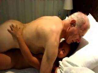 Amateur Daddy Interracial Old and Young Teen