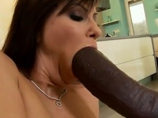 Blowjob Interracial  Pornstar