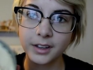 Cute Glasses Teen