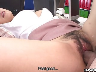Asian  Clothed Hairy Japanese  Office Secretary