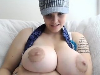 Big Tits  Nipples Tattoo Webcam