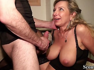 Big Tits Blonde Mature Natural Nipples Piercing