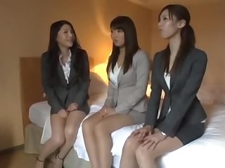 Amazing Asian Japanese  Secretary