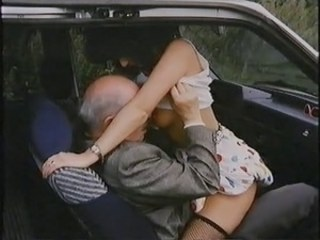 Car Clothed Daddy  Outdoor Riding Vintage