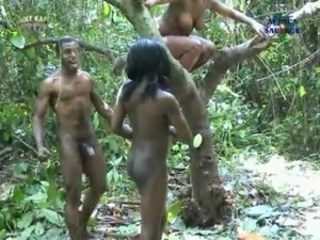 Amateur Ebony  Nudist Outdoor