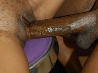 Ebony Shaved