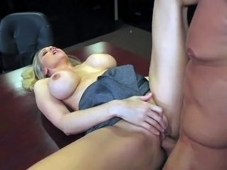 Amazing Big Tits Hardcore  Office Pornstar Silicone Tits