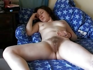 Amateur Hairy  Sleeping Small Tits