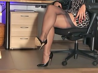 Amazing Legs  Office Secretary Stockings