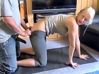 Blonde Daughter Doggystyle Teen Vintage